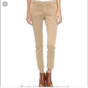 AG Tristan tailored trousers 27 linen cropped jean